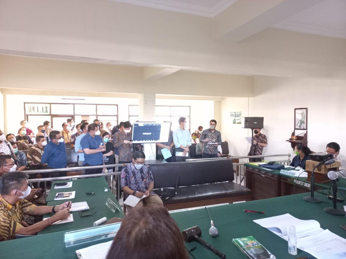 Rapat Pembahasan dan/atau Pemungutan Suara atas Rencana Perdamaian PT Sri Rejeki Isman, Tbk (Dalam PKPU)
