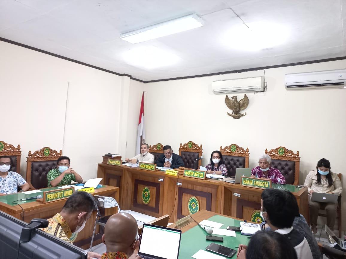 Rapat Kreditor Pertama PT Senang Kharisma Textil (Dalam PKPU)